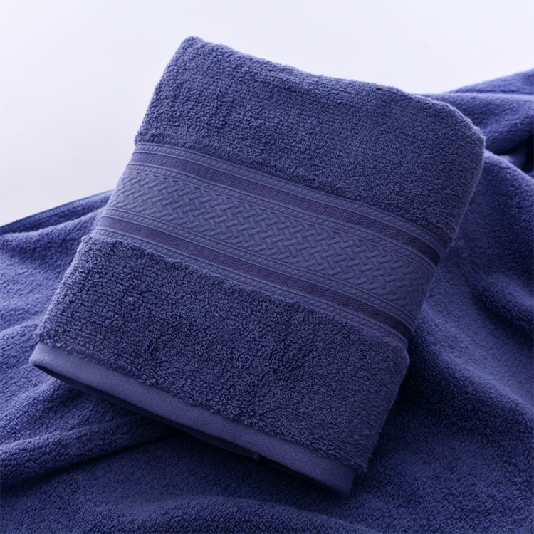 China soft face towel jacuard for home use