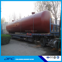 ASME stainless steel oil and gas tank pressure vessel