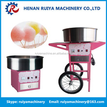 Full automatic small size cotton candy machine/marshmallow production machine for home use