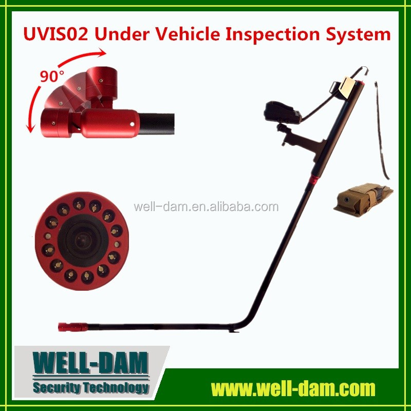 WD-UVIS02 portable explosive detector,under vehicle surveillance system
