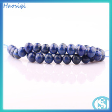 2016 wholesale bulk gem lapis natural stone for necklace making loose bead