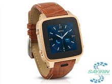 GPS Wifi network bluetooth 4.0 android smart watch for samsung iphone android smartphones