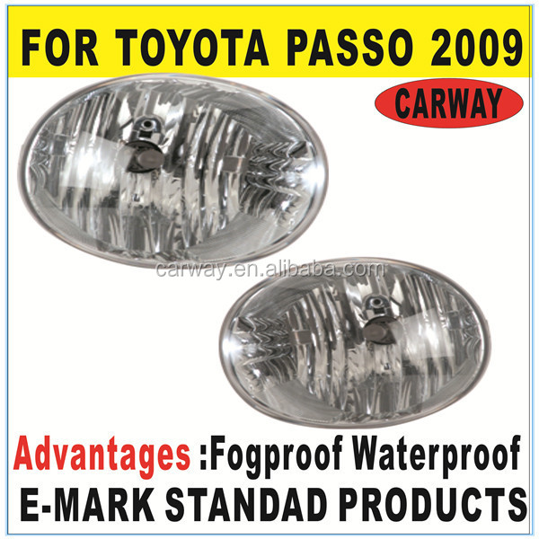 Best Price Fog light for Toyota Passo 2009 ON Auto Spare Parts