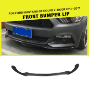 Carbon Fiber Rear Side Window Vents Grille Cover for Ford Mustang 2015