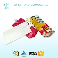 factory for customized printed biodegradable laminated food grade materials juice packaging