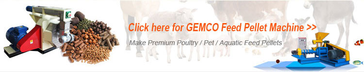 GEMCO Small Pellet Making Machine flat die pellet press maker farm home small biomass straw hay sawdust wood pellet mill plant