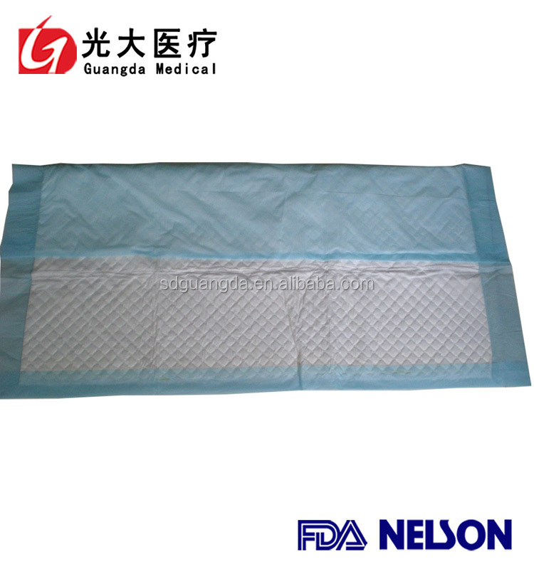 OEM factory of super absorbent disposable under pad