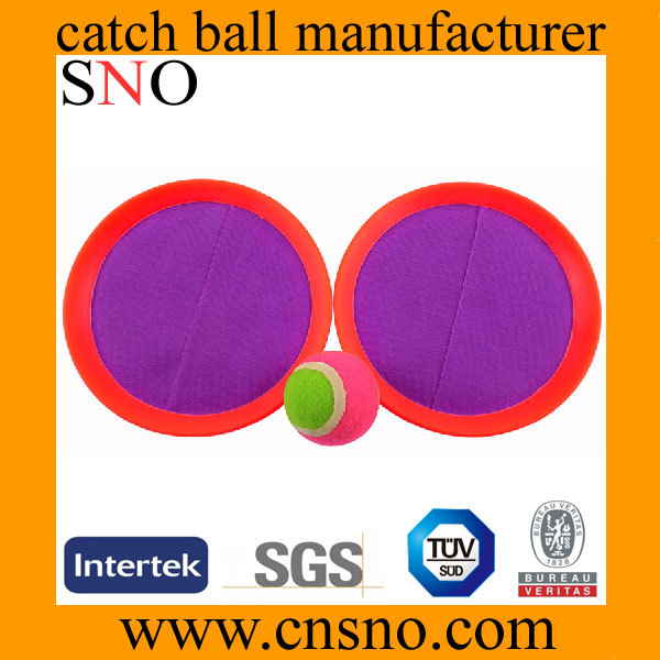 kids suction target beach catch ball game set