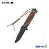 Hot Sale High Quality Wood Handle Multifunctional Combat Knife with Lanyard