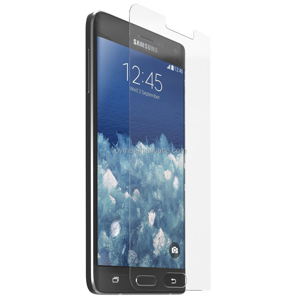 High Quality Clear Tempered Glass Screen Protector For Samsung Galaxy Note Edge