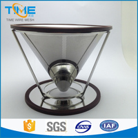 Stainless steeel pour over cone China coffee cold drip