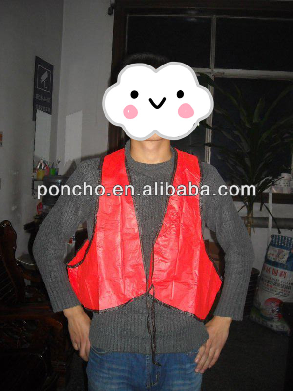 Wholesale cheap hot sales Customized Color Cheap High-Visibility Vest
