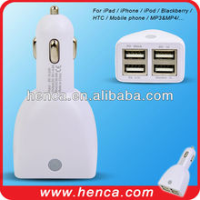 5v 4.6A universal 4usb car charger