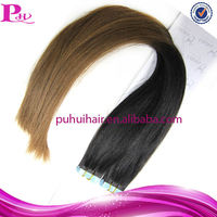 latest fashion remy indian blonde 20inch human hair extensions