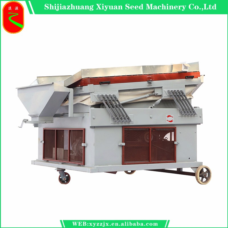 Seed and grain stone removing machine