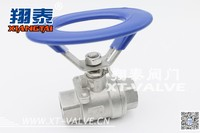 Stainless Steel Oval Ball Valve, Screwed End, Round Handle Ball valve