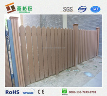 outdoor popular and economic composite wpc fencing