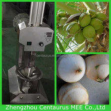 New type coconut top cutter and peeling machine with lowest price