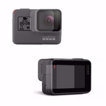 Accessories Protective Film Tempered Glass For GoPro Hero5 Black Action Video Camera Lens LCD Display Screen Protector