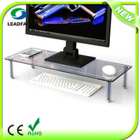 DSG03 Multifunctional Clear Computer Monitor Stand