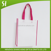 New design eco friendly foldable non woven cloth tote bag shopping