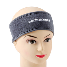 China made terry cloth embroidery logo sports headband for women