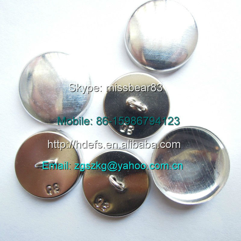 wire shank back button parts for self covered buttons