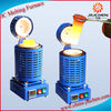 220V and 2KG Capacity Gold Electric Melting Furnaces with one Crucible