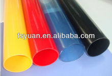 Customized plastic tubes / hard plastic tubing / thin plastic tube