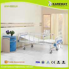 Alibaba china 2 cranks manual hospital bed medical equipment