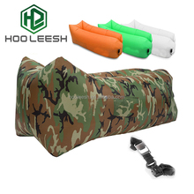 Inflatable Lounger with Carry Bag, Securing Stake and Bottle Opener for Travelling, Camping, Hiking, Pool and Beach Parties