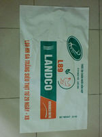 Supply 50kg BOPP laminated pp bag for packing wheat flour/sugar/rice/grains
