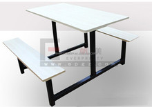 Fast Food Restaurant Table Seat Canteen Furniture