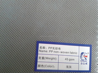 10 gsm-200gsm pp nonwoven fabric/recycle bag materials(factory)