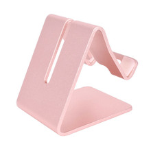 Evergreentech mobile phone holders display stand metal folding aluminum Adjustable tablet cellphone stand for iphone x