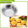 Chinese factory aluminum container for baking egg tarts/pudding/pastry/cake