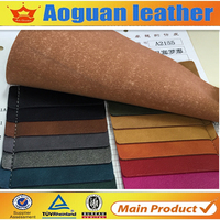 2016 Hot sale pu faux leather seem like microfiber with release paper for making men shoes A2155