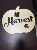 Holloween & Thanksgiving holiday ornaments laser cutting