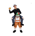2016 Fancy Dress carry me costume Beer man Germany oktoberfest costume