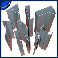 Extruded aluminum floor