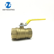 Long stem brass ball valve dn40 price 3 piece heavy weight refrigeration ball valve