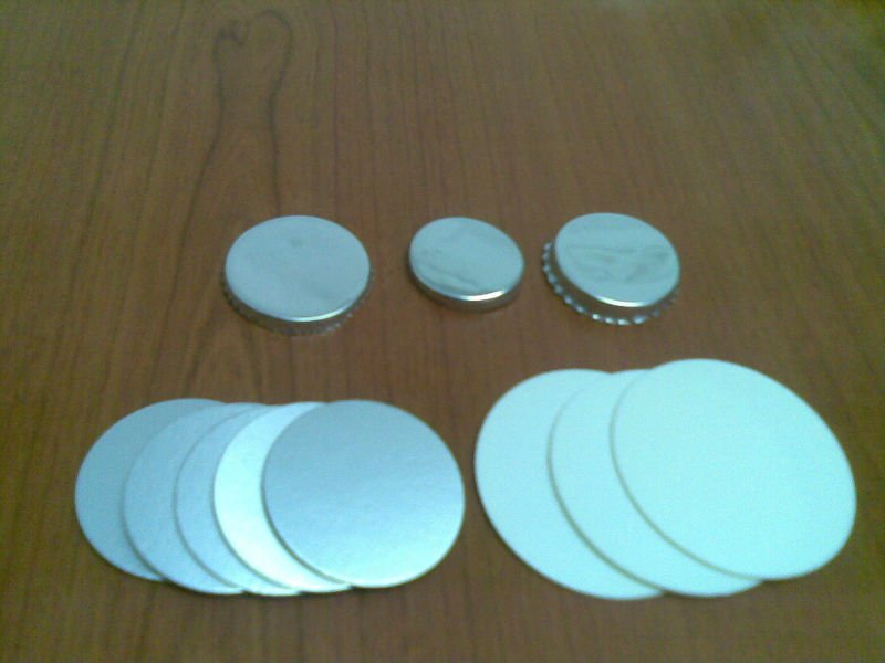Aluminium foil/ induction seal for PP/PE Bottle