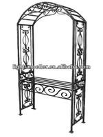 garden arch bench