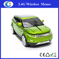 2.4G 1600DPI 3D Car Shape Wireless Mouse With USB Receiver For Laptop PC
