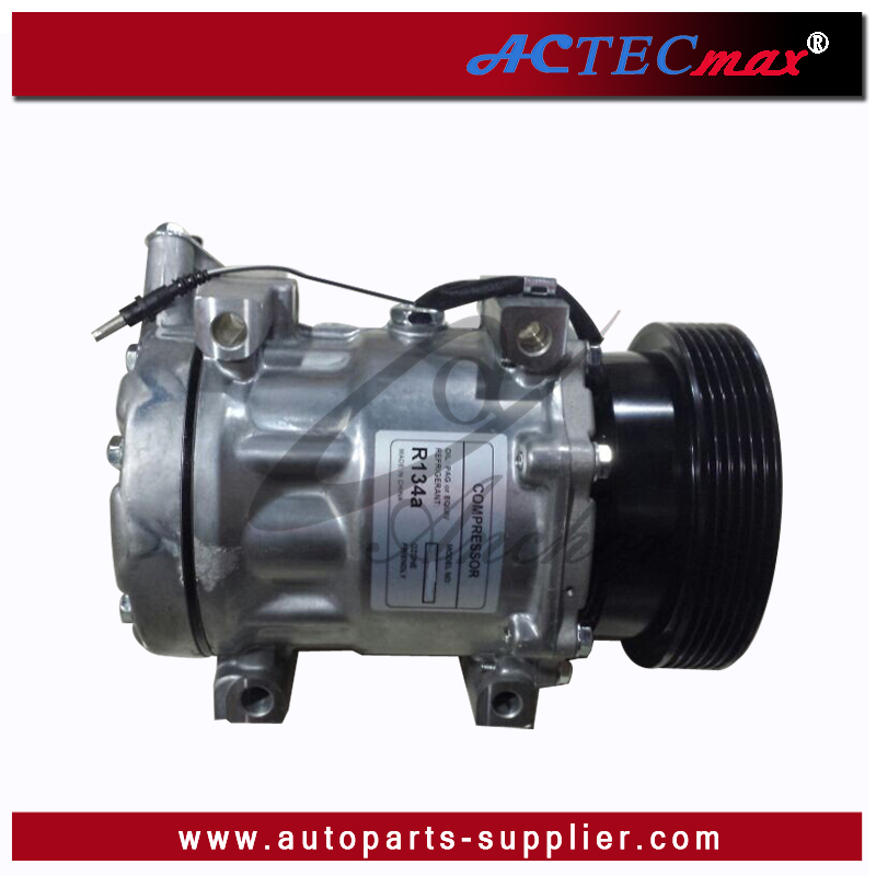 OE#8200117767/8200603434/6001548723/600154991/8200526884/926006229R Compressor Sanden SD7V16 6Pk 125mm Sanden Car AC Compressor