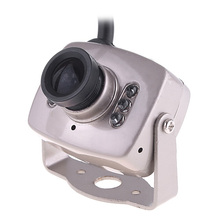 "Mini Color Wired Security Micro Camera 1/4"" CMOS 380TVL CCTV Camera Video Monitor Webcam 5.6mm Lens PAL"