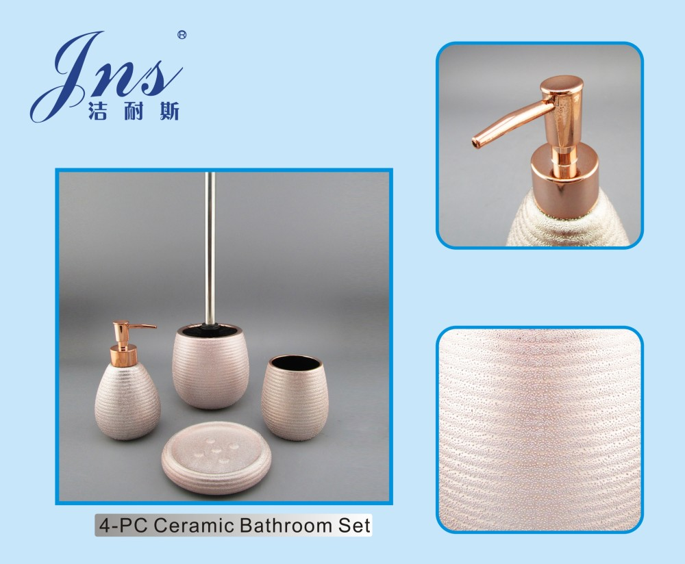List Manufacturers Of Rose Gold Bathroom Accessories Set