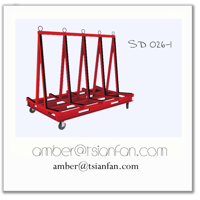 Tsianfan SD026 | One Stop A-Frame Carts with Ratchet belt