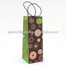 Concentric Circles Bottle Bag