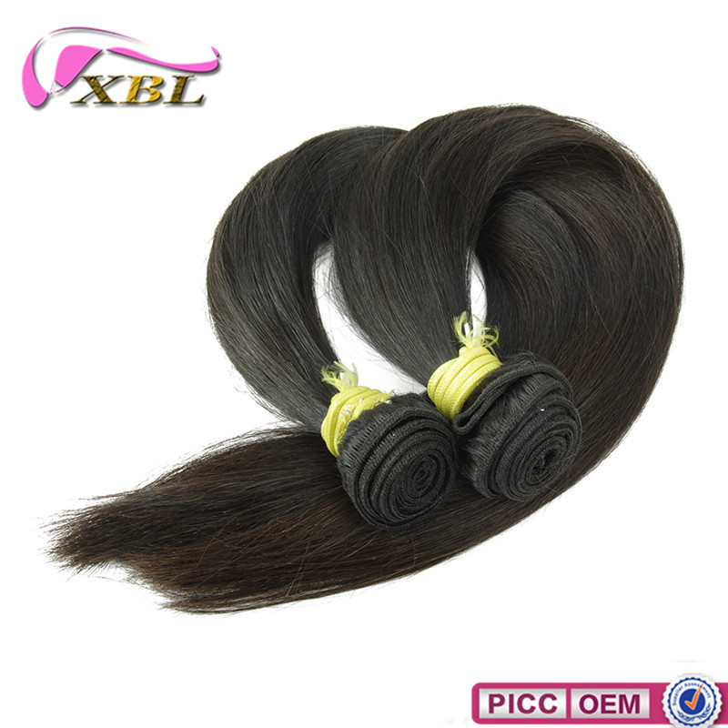XBL Top Grade Straight Cambodian 100% Pure Virgin Human Hair Online